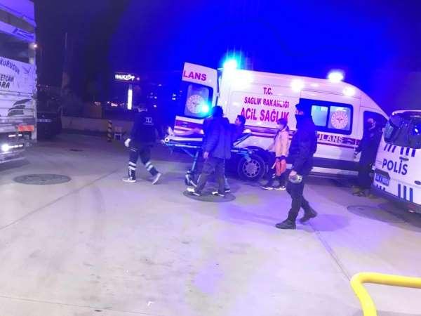 Ankarada benzinlik istasyonunda bıçaklı saldırı: 1i polis 2 yaralı