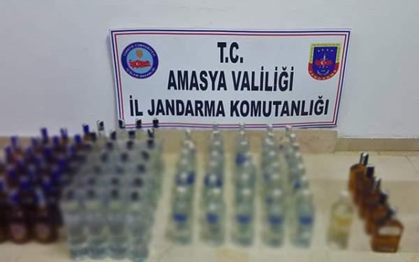 97 Şişe Kaçak İçki, 3 Gözaltı