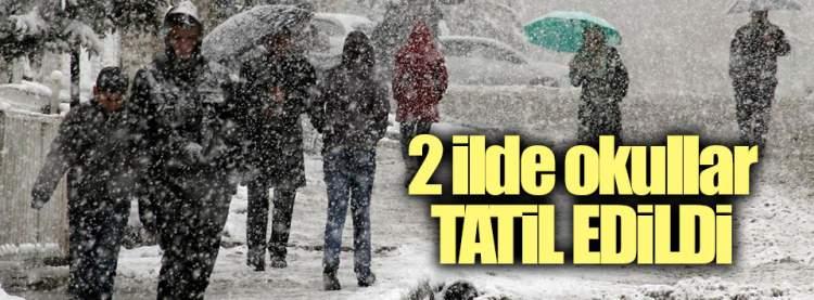 Tunceli Haberleri: 2 İle Kar Tatili
