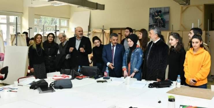 Vali Osman Kaymak'tan Güzel Sanatlar Fakültesine Ziyaret! - Samsun Haber