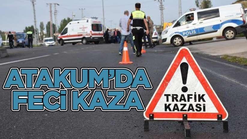 Samsun'da feci kaza 1 ölü