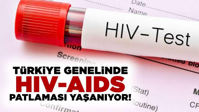 Türkiye genelinde HIV/AIDS patlaması yaşanıyor!
