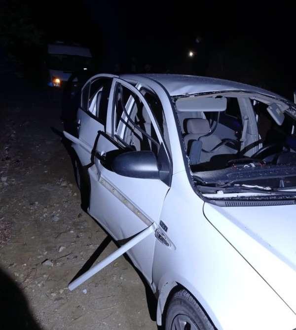 Çakmak gazı çekilen otomobilde patlama: 2 yaralı