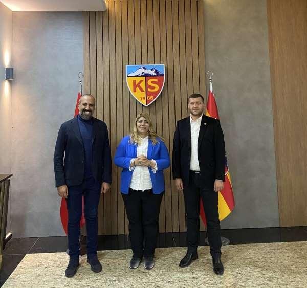 MHP Kayseri Milletvekili Ersoy: 'Kayserispor'un yanındayız'