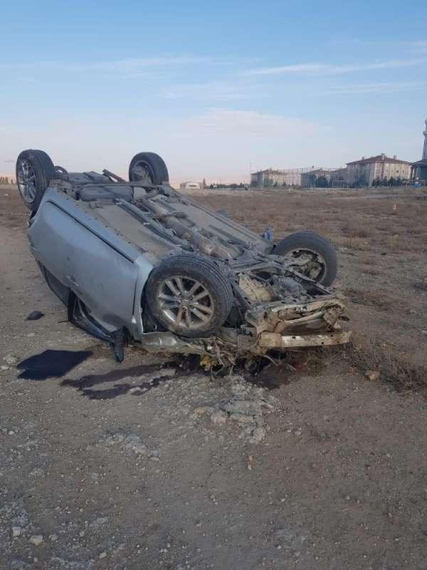 Yozgat'ta 2 polis memuru trafik kazasında hayatını kaybetti