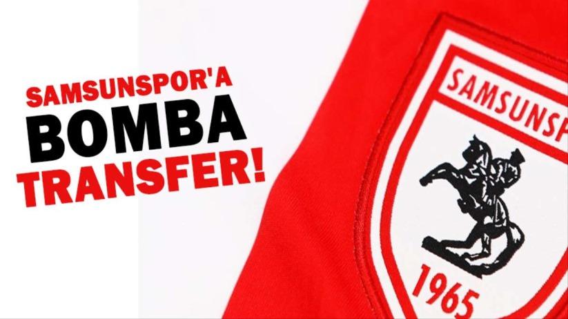 Samsunspor'a bomba transfer!