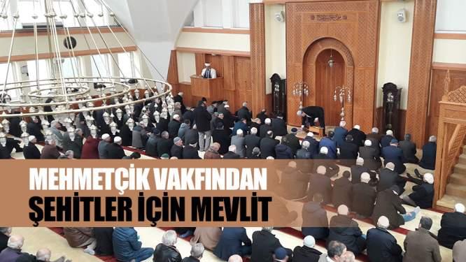 Mehmetçik Vakfından şehitler için mevlit