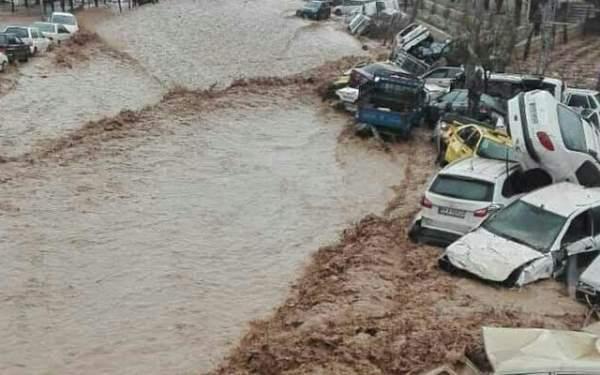 İran'da sel
