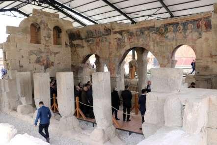 Ayasofya Müzesi ile yaşıt olan kilise turizme kazandırıldı