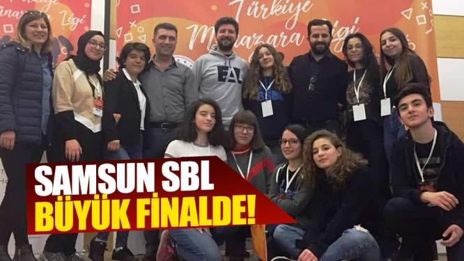 Samsun SBL büyük finalde!
