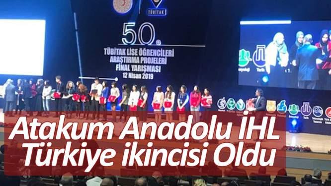 Atakum Anadolu İHL Türkiye ikincisi oldu