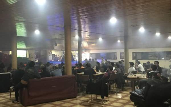 Gürcistan'da da derbi heyecanı yaşandı