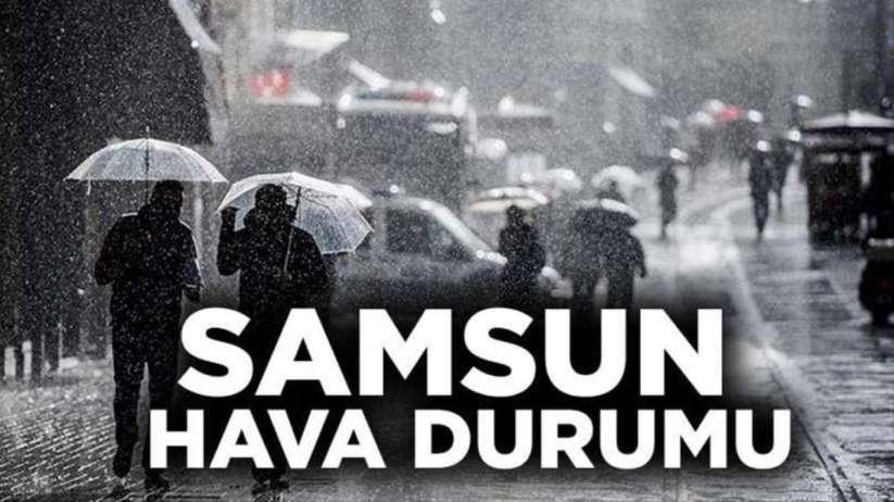 15 Nisan Çarşamba Samsun'da hava durumu