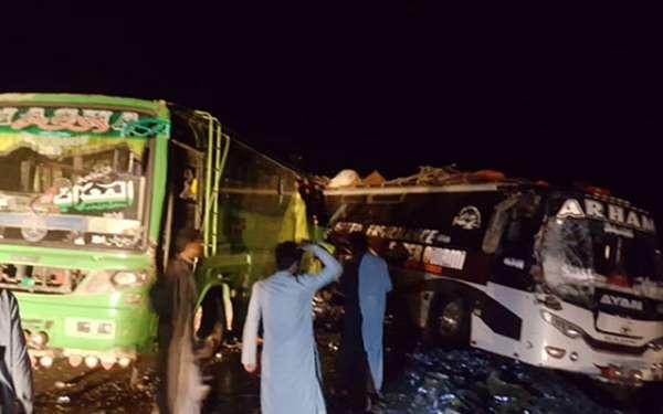 Pakistan'da kaza: 5 ölü 25 yaralı