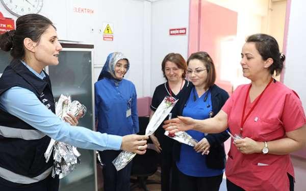 Başkan Demirtaş: 'Hemşireler sorumluluklarını eksiksiz yerine getiriyor'