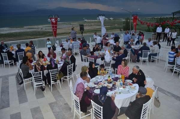 Burdur' da 290 şehit yakını, gazi ve gazi yakını Milli Bilik günü etkinliğinde b