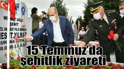 Samsun'da 15 Temmuz Demokrasi ve Milli Birlik Günü etkinlikleri