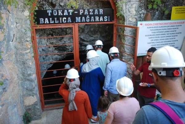 Ballıca Mağarasını bayram tatilinde 9 bin 624 kişi ziyaret etti