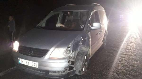 Çorum'da zincirleme trafik kazası: 15 yaralı