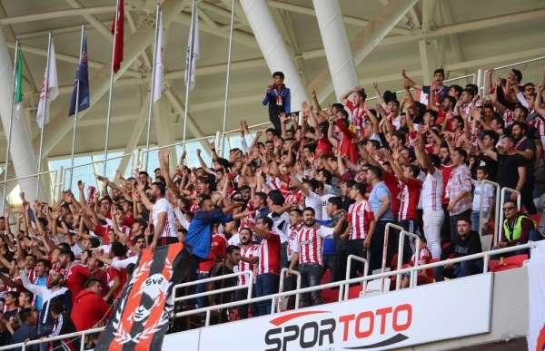 Sivasspor'da Passolig sayısı 58 bine ulaştı