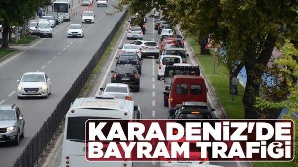 Karadeniz'de Bayram trafiği