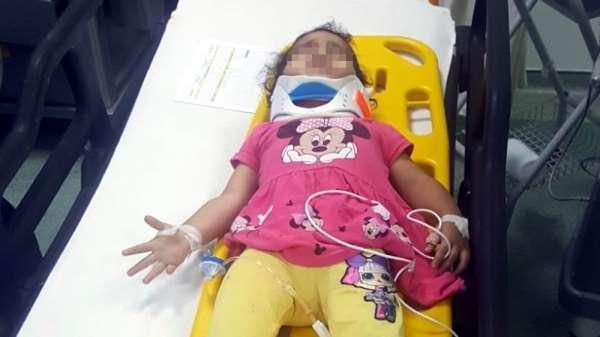 1 kattan düşen çocuk ağır yaralandı
