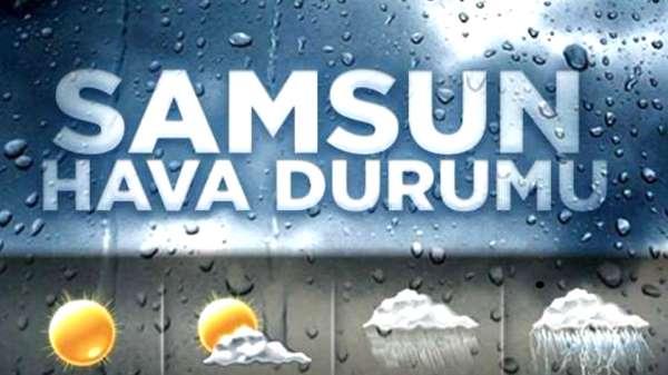 17 Eylül Pazartesi Samsun ve ilçeleri hava durumu