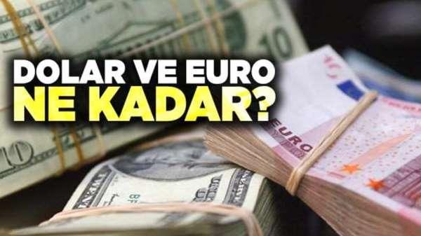 Samsun'da dolar ve euro ne kadar 15 Eylül Pazar dolar ve euro fiyatları