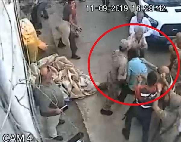Samsun'da icra memuruna saldırının güvenlik kamerası görüntüsü ortaya çıktı