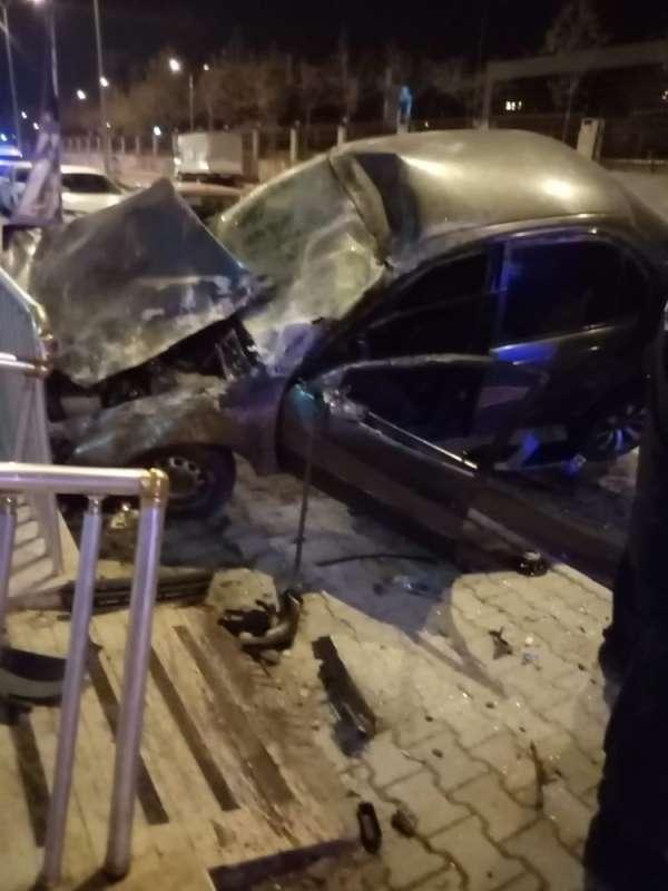 Hatay'da trafik kazası: 2 yaralı
