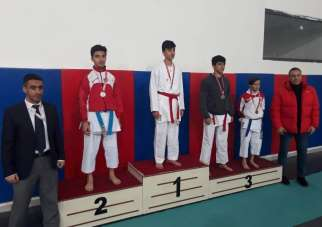 Karate Sivas il birinciliği sona erdi