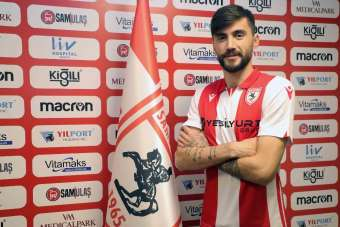 Samsunspor Veli Çetin ile sözleşme imzaladı