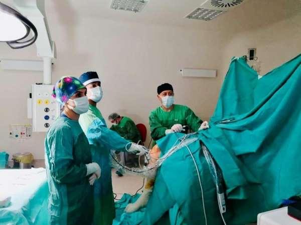 Ayancık'ta artroskopi ile omuz ve diz ameliyatları yapılmaya başlandı