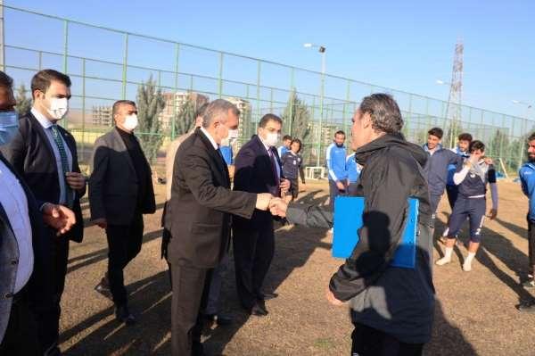 Beyazgül'den Şanlıurfaspor'u ziyaret
