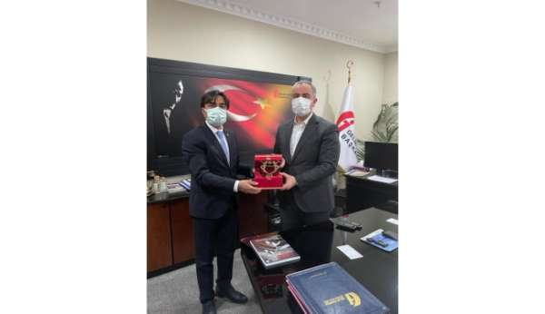 Cizre TSO Başkanı Sevinç, Gelir İdaresi Başkanı Bayrakdar ile görüştü