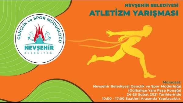Geleceğin milli atletleri Nevşehir'de yetişecek