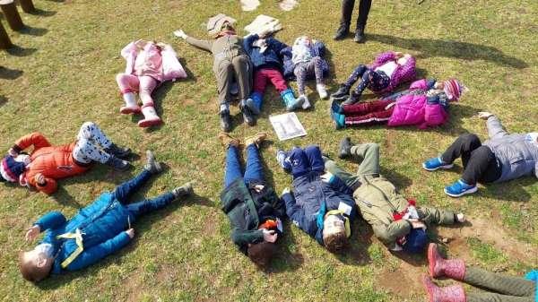 Canik Orman Okulu öğrencilerine kapılarını açtı