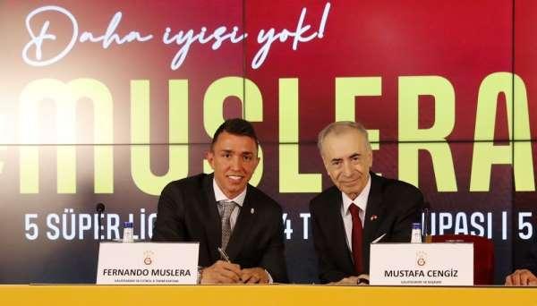 Galatasaray, Fernando Musleranın sözleşmesini 2024 yılına uzattı