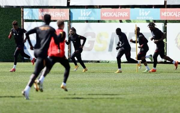 Galatasaray, Rizespor hazırlıklarını sürdürdü