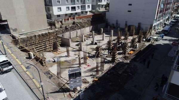 İş Merkezi ve Otopark Projesinde çalışmalar sürüyor
