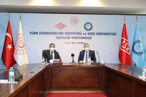 TSE ve Gazi Üniversitesi arasında iş birliği protokolü imzalandı