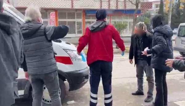 Yolda yürüdüğü esnada sopalı saldırıya uğradı