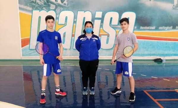 Yunusemre Belediyesporlu 2 badmintoncu ile milli takım seçmesine katılacak