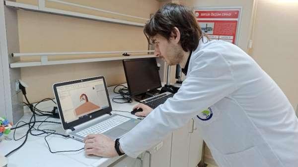 Entübe hastalarını rahatlatacak ürün Düzce Üniversitesinde hayata geçirildi