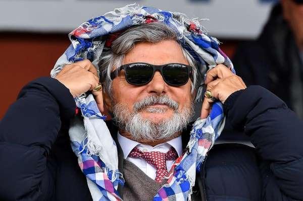 Sampdoria Başkanı Massimo Ferrero: 'Aşı için kobay olurum'