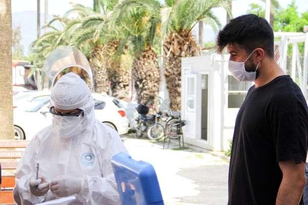 Hatayspor'a ikinci defa korona virüs testi yapıldı