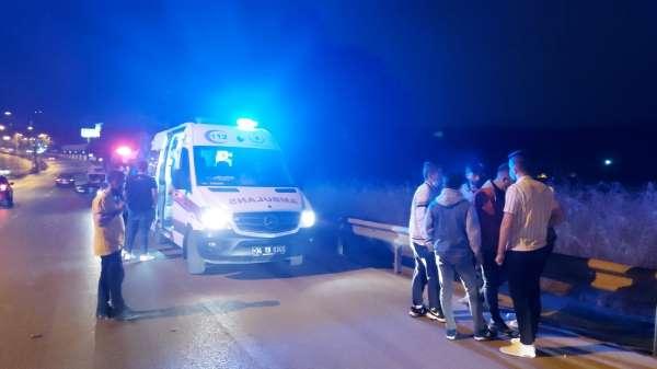 Ümraniyede şampiyonluk kutlamaları kaza ile sonuçlandı: 4 yaralı