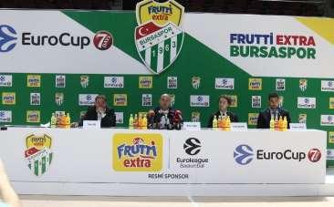 Frutti Extra Bursaspor, Eurocup'ta