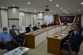 Havza Meclisinde görev dağılımı