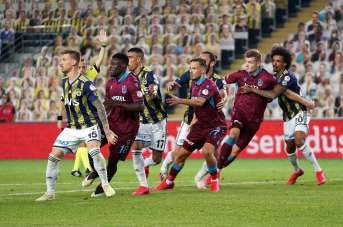 Kupada ilk finalist Trabzonspor